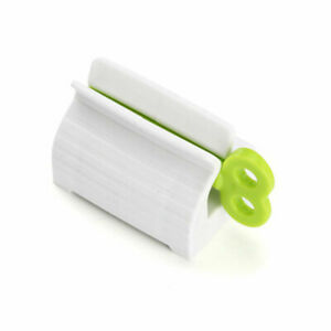 1 Pcs Toothpaste Squeezer Rolling Tube Easy Dispenser Seat Holder Stand Bathroom
