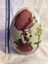 New ListingVintage Holly Hobbie Ceramic Egg Bank