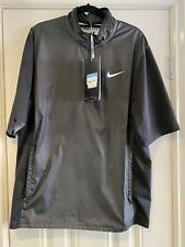 Nike Golf Shield Shirt Dk Grey & Black Brand New Unused With Tags Size Medium