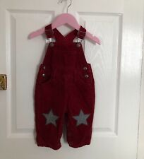 Boys BODEN dungarees age 6/12 months