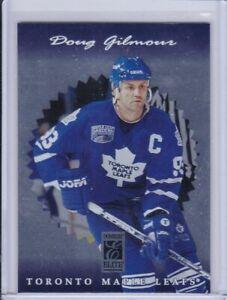 Doug Gilmour 1996 Donruss Elite Hockey Card 44 Grade NMMT