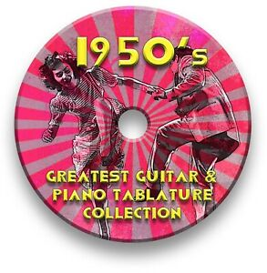 50s Rock n Roll Guitar Tabs Tablature Lesson Software CD - Guitar Pro