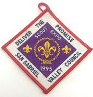 Boy Scout 1995 San Gabriel Valley Council Scout Expo Patch Mint