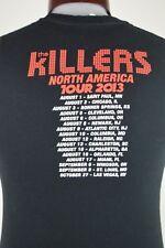 The Killers Battle Born North American Tour 2013 Mens S Black Graphic T Shirt