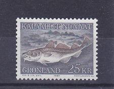 v350 Grönland / Fische  MiNr 129 **