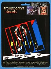 Billy Idol Color Sticker By Rockon 1984 Very Cool