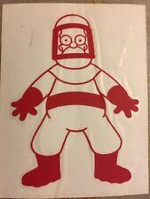 "The Simpsons Rare Rub-on Sticker 4.5""x5.5"""
