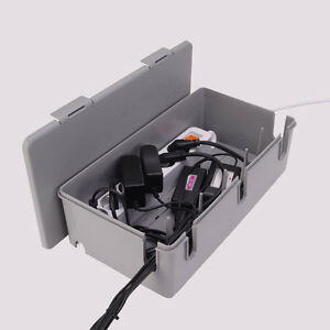 "15"" Cable Manager Cable Wire Management Box Power strip Box"