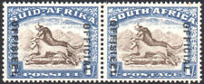 South Africa Official 1935-49 1s brown & chalky blue, SG O25, mint, cat.£80