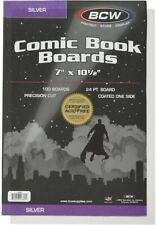 More details for 100 bcw silver comic book boards brand new ***free postage***