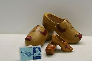 Wood Clogs - Made In Holland - 2 Pairs of Clogs