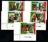 Senegal 1990 Mi. 1076A- Postfrisch 100% World Cup, Italien, CALCIO