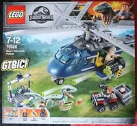 LEGO JURASSIC WORLD  `` BLUE'S HELICOPTER PURSUIT ´´  Ref 75928  NUEVO