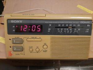 Sony Icf-c220l Radio Alarm