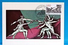 ESCRIME    FRANCE  CPA Carte Postale Maximum  Yt 2147 C
