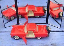Majorette Ford Thunderbird, 1-32, état de jeu, roulants et ouvrants en bon état,