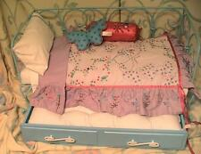 American Girl Doll Curlique Day Bed with Trundle and Butterfly Bedding