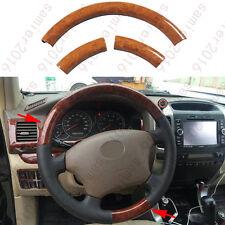3pcs/ set  Wood Grain Color Steering Wheel Cover Trim For Hyundai Tucson 05-2009