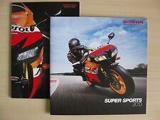 Honda Super Sports UK Sales Brochure & Range Poster (2013), Inc Fireblade