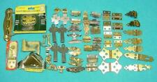 M-425  Vintage Jewelry,other box Hardware, Hinges, Clasps,corners and more