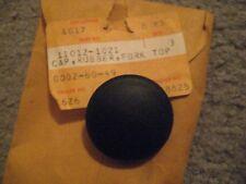 KAWASAKI KZ440/LTD/KZ400/305/BELT/CSR FORK TOP CAP NOS!