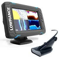 Lowrance Elite 7Ti Chartplotter / Fishfinder with Low/High/DownScan™ transducer
