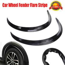 2 × Universal Car Wheel Arch Trim Fender Flare Eyebrow Protector Sticker Stripe