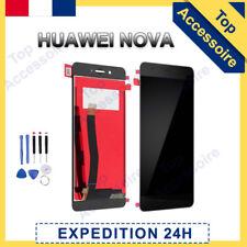 VITRE TACTILE + ECRAN LCD ORIGINAL PRET-A-MONTER POUR HUAWEI NOVA NOIR + OUTILS