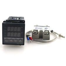 REX-C100 PID Temperature Controller Thermostat AC220V/110V10A SSR KThermocouple