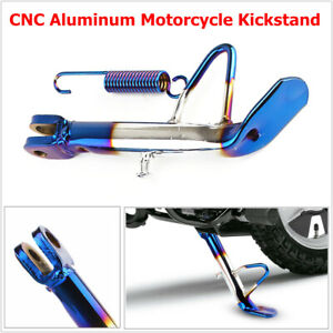 1PCS Aluminum Motorcycle Scooter Kickstand Side Stand Leg Fit for Honda Suzuki