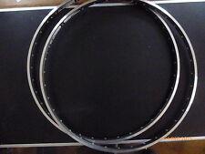 2 x neue 28 zoll rennradfelgen marke ryde typ chrina schwarz-matt 20mm breit