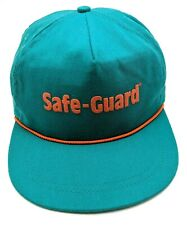 SAFE-GUARD PRODUCTS green adjustable cap / hat - Made in USA!