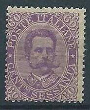 1889 REGNO UMBERTO I 60 CENT MNH ** - T243
