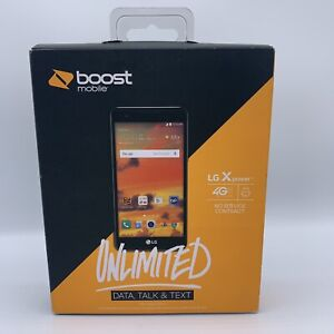 LG X Power - 16GB - Black (Boost Mobile) Sealed