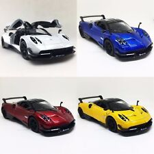 KINSMART 1:38 DISPLAY 2016 PAGANI HUAYRA BC DIECAST CAR 4 COLOR SET KT5400D