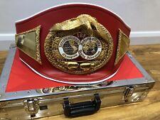 Official IBF INTERNATIONAL CHAMPION Boxing Belt- Genuine WBA,WBC,IBF