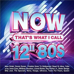 """NOW That's What I Call 12"""" 80s BRAND NEW 4CD"""