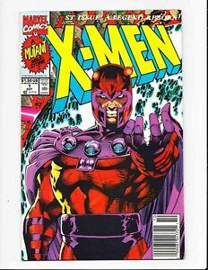 X-Men #1 Rare newsstand UPC cover Jim Lee Cover D