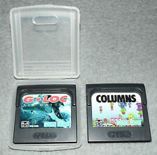 G LOC Air Battle + Columns Spiele Sega Game Gear Spiel