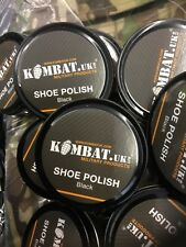 BLACK BOOT POLISH Military Army Cadet High Gloss Parade Shoe Shine Shiny Noir