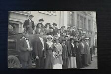 More details for postcard charabanc motor vehicle unposted vickery bros real photo rp - vintage