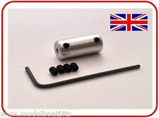 RC MOTOR ALUMINIUM COUPLING 2.0mm to 2.0mm RADIO CONTROL MODEL