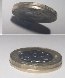 Ultra Rare 2018 £1 pound Coin Error - MIS STRUCK