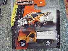 Matchbox 2014 #114/120 FORD F-350 orange MBX Construction Case H New Casting