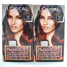 2x Loreal Paris Preference Color Ombres Color Ombre Red