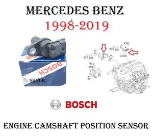 Mercedes Camshaft Cam Position Sensor For W203 W204 W216 W211 W164 W221 W230