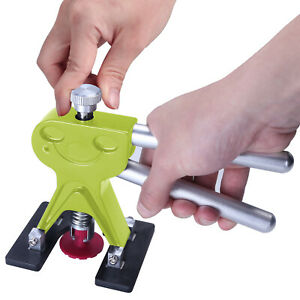 Car Dent Paintless Hail Green Dent Puller Lifter PDR Tool Damage Repair Removal