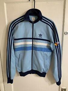 RARE Adidas 1982 Spain España 82 World Cup Soccer Track Jacket Sz S Blue Fifa