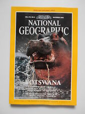 National Geographic Magazine December 1990 with Supplement