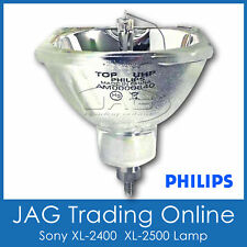 SONY XL-2400 XL-2500 DLP Rear Projection Projector TV LAMP/BULB - PHILIPS 19.8